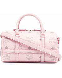 MCM ボストン ハンドバッグ ミニ - ピンク