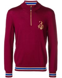 Billionaire - Rolf Logo Embroidered Sweater - Lyst