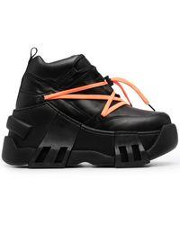 Swear Botas Amazon con plataforma - Negro