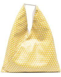 MM6 by Maison Martin Margiela Japanese Top Handle Tote Bag - Yellow