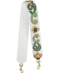 Dolce & Gabbana - Bride portée épaule cloutée à broderies - Lyst