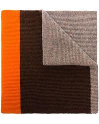 Ganni Sciarpa color-block - Multicolore