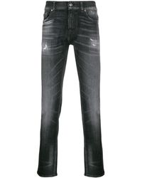 7 For All Mankind Ronnie スキニージーンズ - ブラック