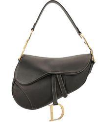 Dior Pre-owned Saddle Bag - Black