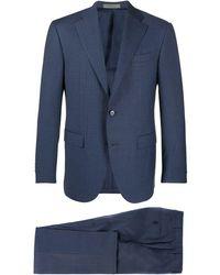 Corneliani Striped Two-piece Suit - Blue