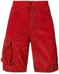 Stone Island - Utility Pocket Swim Shorts - Lyst