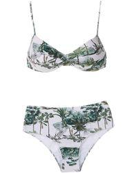 Lygia & Nanny Bikini Met Print - Wit