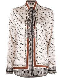 Altea Equestrian-print Shirt - Multicolour
