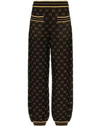 Gucci - GGパターン ニットパンツ - Lyst