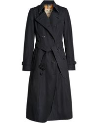 Burberry - Trench Chelsea Heritage lungo - Lyst