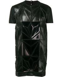 Rick Owens Structured T-shirt - Black