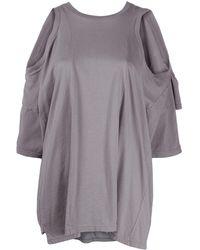 Maison Margiela - カットアウトショルダー Tシャツ - Lyst