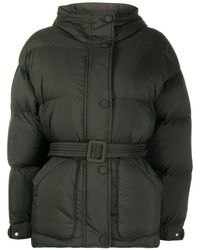 Ienki Ienki Michlin オーバーサイズ パデッドジャケット - グリーン