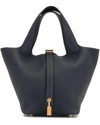 Hermès 2019 Pre-owned Picotin Lock Pm Tote Bag - Blue
