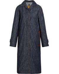 Mackintosh - Dark Indigo Denim Coat D-wc008d - Lyst