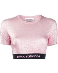 Paco Rabanne - クロップドトップ - Lyst