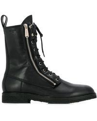 Balmain Army Ranger Boots - Black
