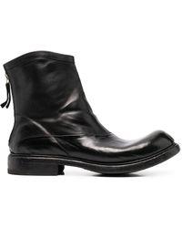 Premiata Массивные Ботинки На Молнии - Черный