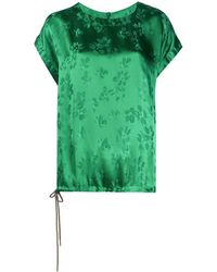 Essentiel Antwerp Vuvuzela フローラル Tシャツ - グリーン