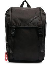 Golden Goose Deluxe Brand Рюкзак С Нашивкой-логотипом - Черный