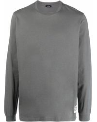 DIESEL ロゴパッチ Tシャツ - グレー