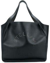 Stella McCartney - Perforated Logo Tote - Lyst