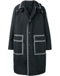 Versace Парка 'nastro ' С Капюшоном - Черный