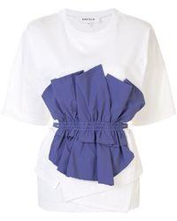Enfold ドローストリング Tシャツ - マルチカラー