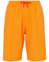 House of Holland Drawstring Waist Shorts - Orange