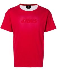 CALVIN KLEIN 205W39NYC Jaws リバーシブル Tシャツ - レッド