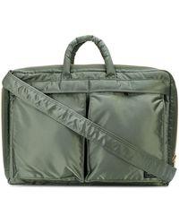 Porter Tanker Laptop Bag - Green