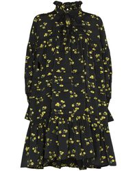 Cecile Bahnsen - Tiered Floral-print Dress - Lyst