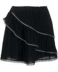 IRO ティアード スカート - ブラック