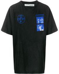 Off-White c/o Virgil Abloh T-shirt Hardcore Caravaggio - Noir