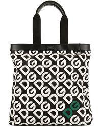 Dolce & Gabbana Logo-print Tote Bag - Black