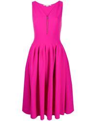 Stella McCartney ジップアップ ドレス - ピンク