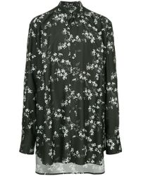 Ann Demeulemeester - Floral Print Shirt - Lyst