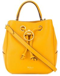 Mulberry Hampstead バケットバッグ S - イエロー