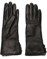 Gala - Buttoned Cuffs Gloves - Lyst