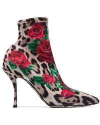 Dolce & Gabbana - Lori 90 ブーツ - Lyst