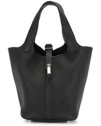 Hermès Сумка-тоут Picotin Lock Pm 2020-го Года - Черный