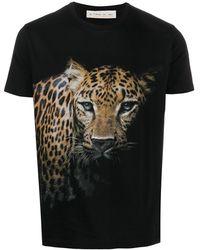 Etro レオパード Tシャツ - ブラック