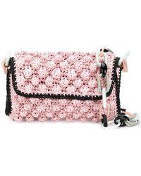M Missoni - Bubble Knit Chain Bag - Lyst