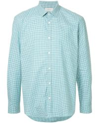 Cerruti 1881 - Tonal Checked Shirt - Lyst