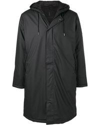 Rains - Zipped Long Raincoat - Lyst