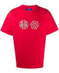 Rassvet (PACCBET) グラフィック Tシャツ - レッド