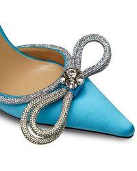 Mach & Mach Zapatos de tacón de 110mm - Azul