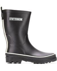 Stutterheim - Ridged Sole Boots - Lyst