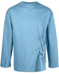 A_COLD_WALL* Pentagon ロングtシャツ - ブルー