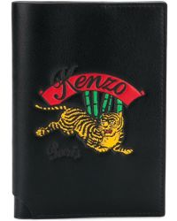 KENZO - Embroidered Passport Holder - Lyst